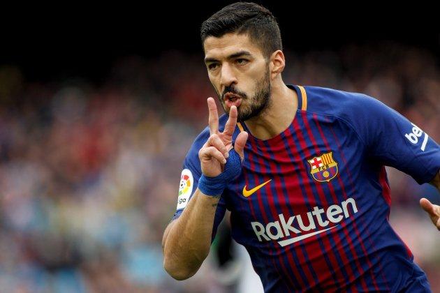 Luis Suarez gol valencia barça efe