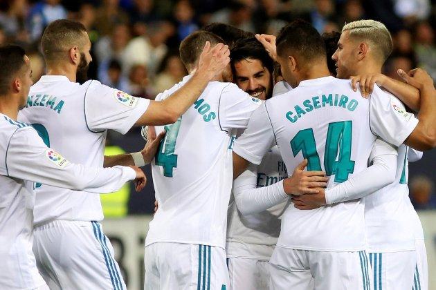 Reial Madrid Isco pinya EFE
