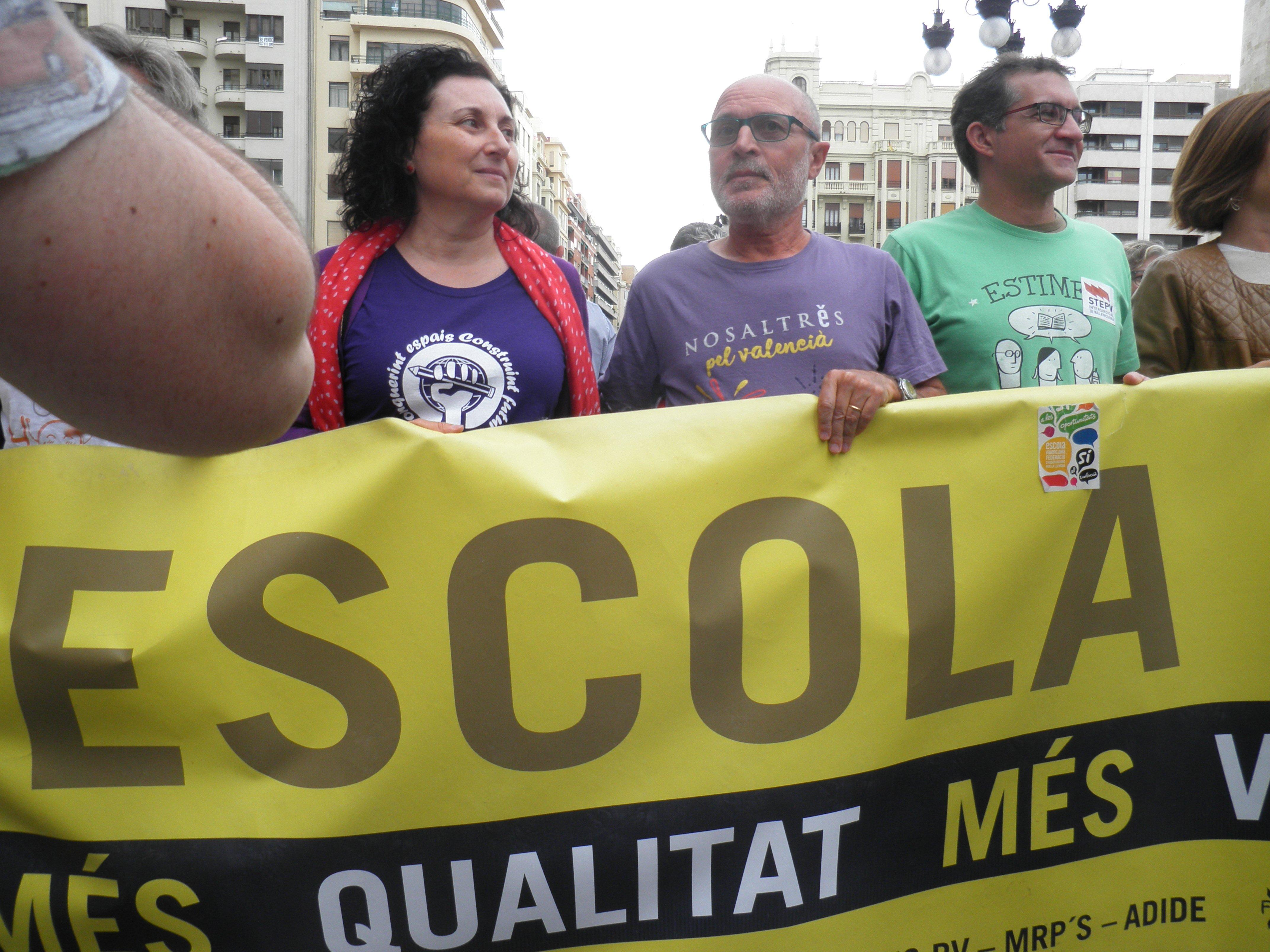 MANIFESTACIÓ LOMQE Valencia 3