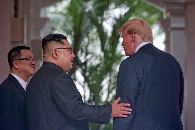 Kim Jong Un i Trump 2 EFE