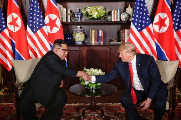 Kim Jong Un i Trump 3 EFE