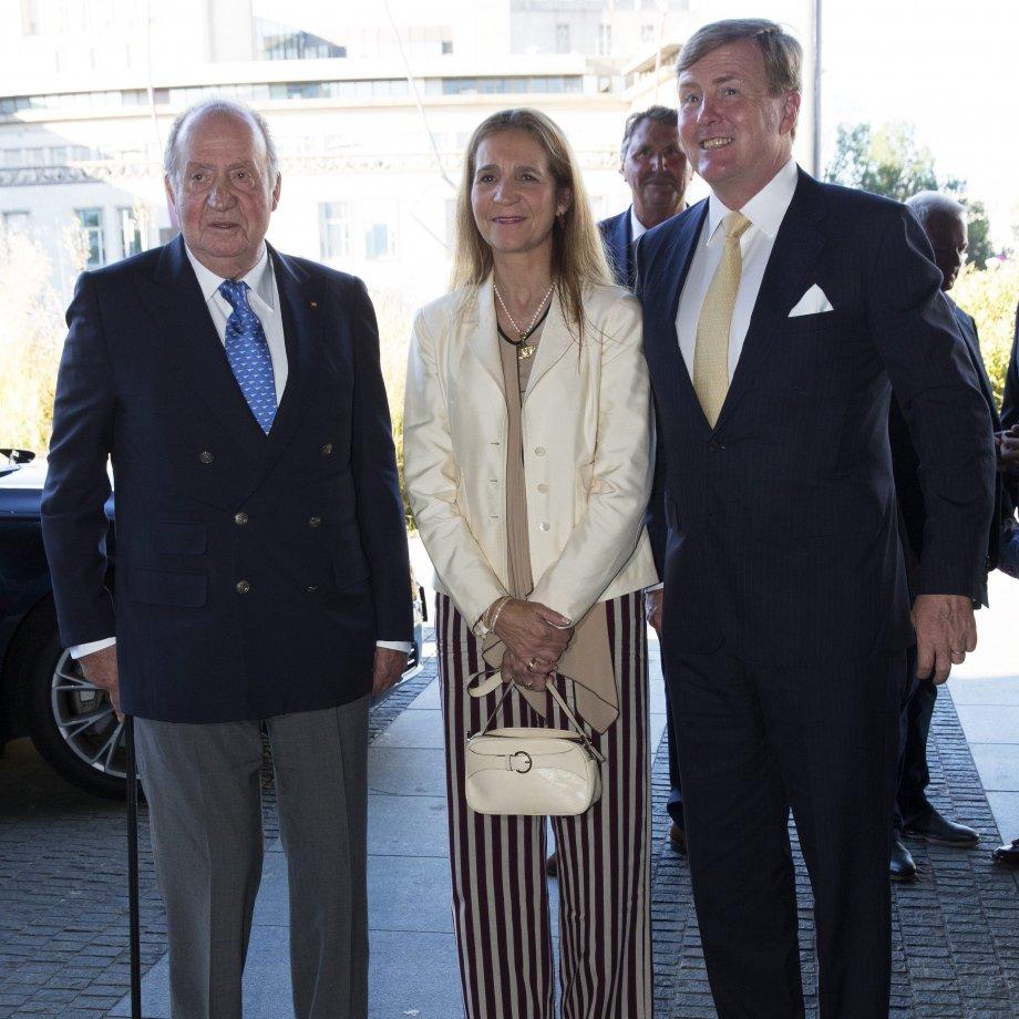 Joan Carles, elena i el rei Holanda GTRES