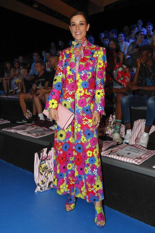 Raquel Sánchez Silva vestit flors GTRES