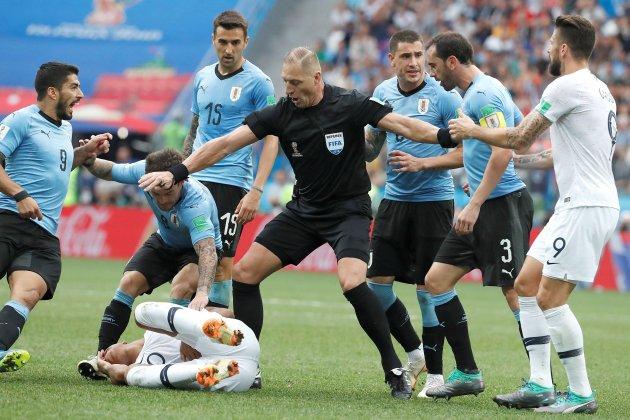 Néstor Pitana àrbitre final Mundial Rússia 2018 Efe
