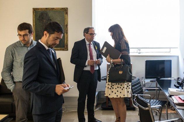 damia calvet quim torra president generalitat catalunya seguiment - Carles Palacio