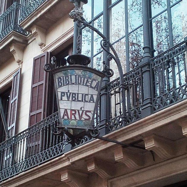 fanal biblioteca Arús Raúl Sanz Museu al Carrer MNACTEC