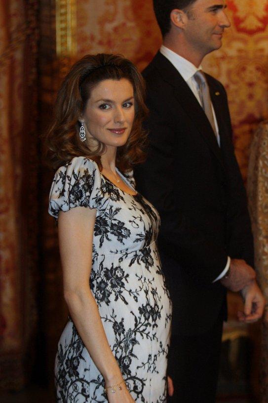 leticia embarassada GTRES