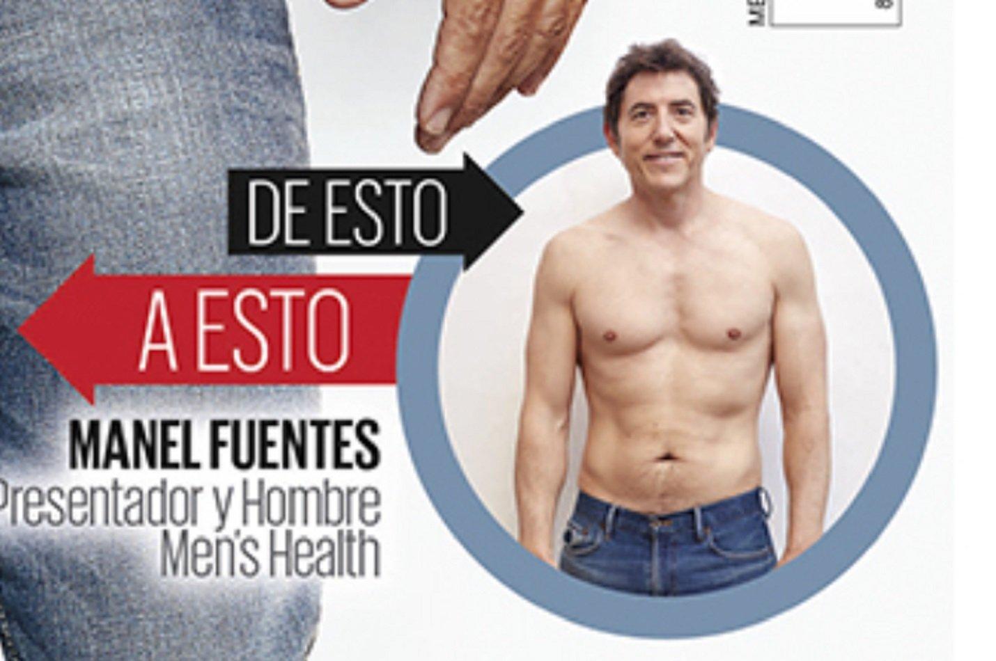manel fuentes canvi fisic 2 men's health