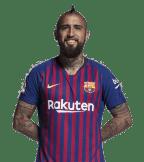 1x1 Arturo Vidal 2018 2019