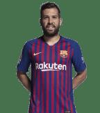 1x1 Jordi Alba 2018 2019