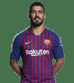 1x1 Luis Suárez 2018 2019
