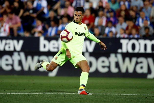 Philippe Coutinho Barça Leganés EFE