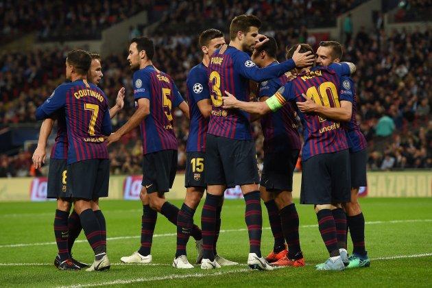 Barça gol Messi Champions Tottenham EFE