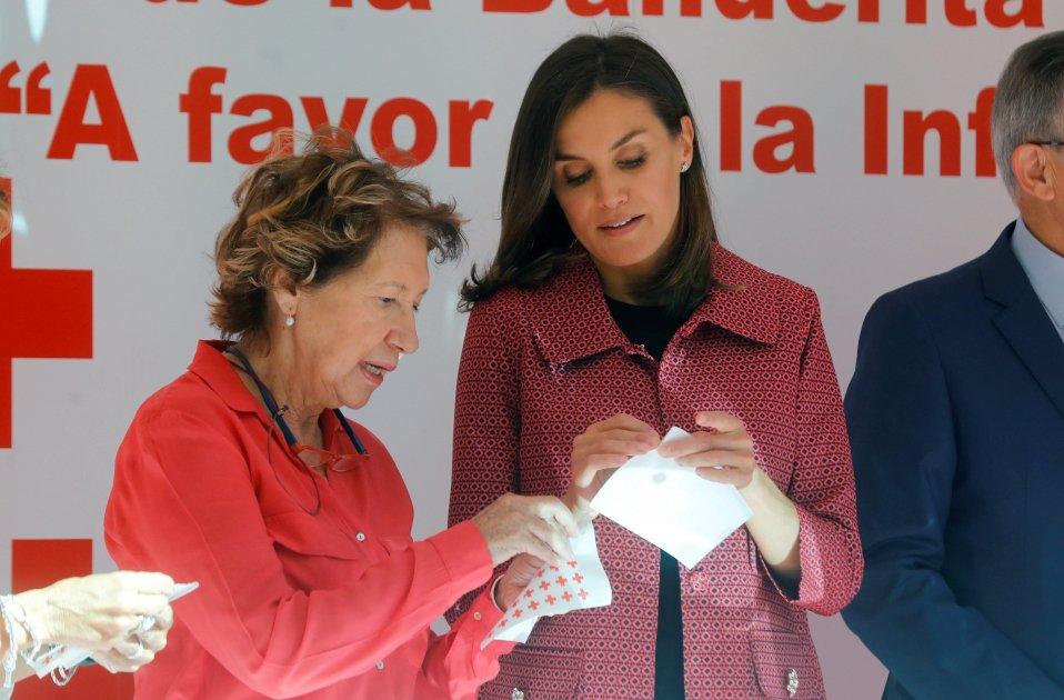 leticia creu roja EFE