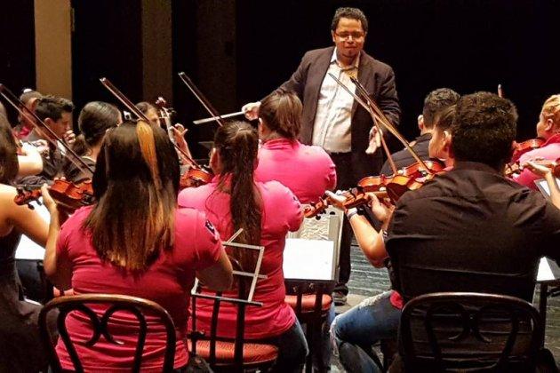 orquesta femenina ilopango instituto salvadoreño niñez