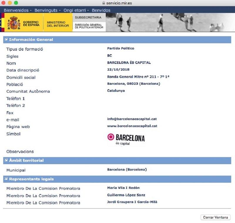 registre barcelona és capital el nacional