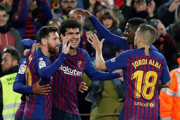 Messi Dembele Alena Alba Barca Vilareal EFE