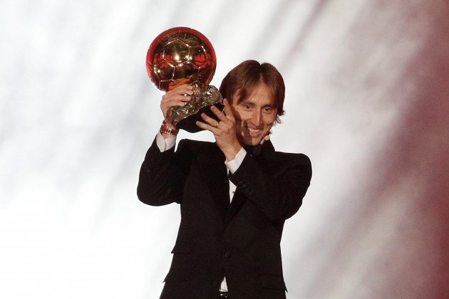 Luka Modric Pilota d'Or 2018 EFE