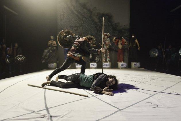 Escena del espectacle. David Ruano TNC