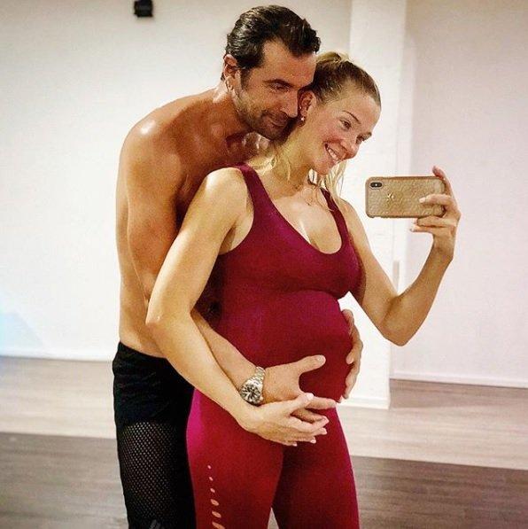patry montero embarassada novio esport