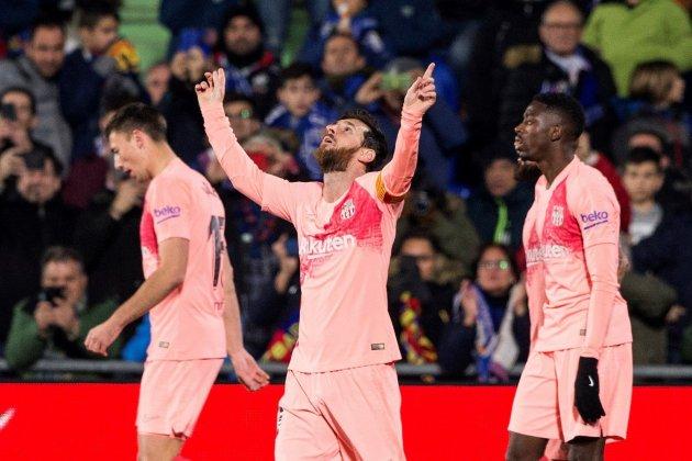 messi gol getafe barça EFE