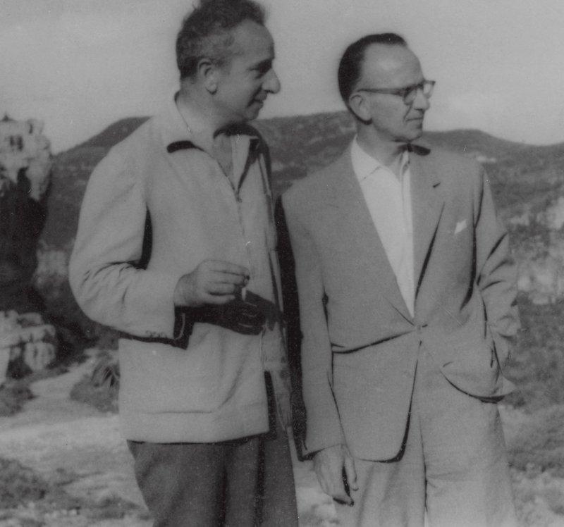 Joan Sales i Xavier Benguerel
