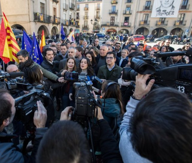 Ines Arrimadas Amer Diputats Ciutadans Carles Palacio