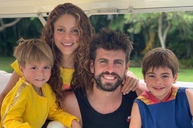 Piqué Shakira Milan Sasha @3gerardpique