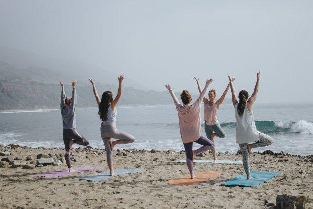 Mujeres yoga