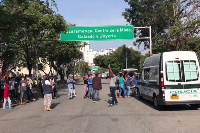 Venezolanos en Bucaramanga