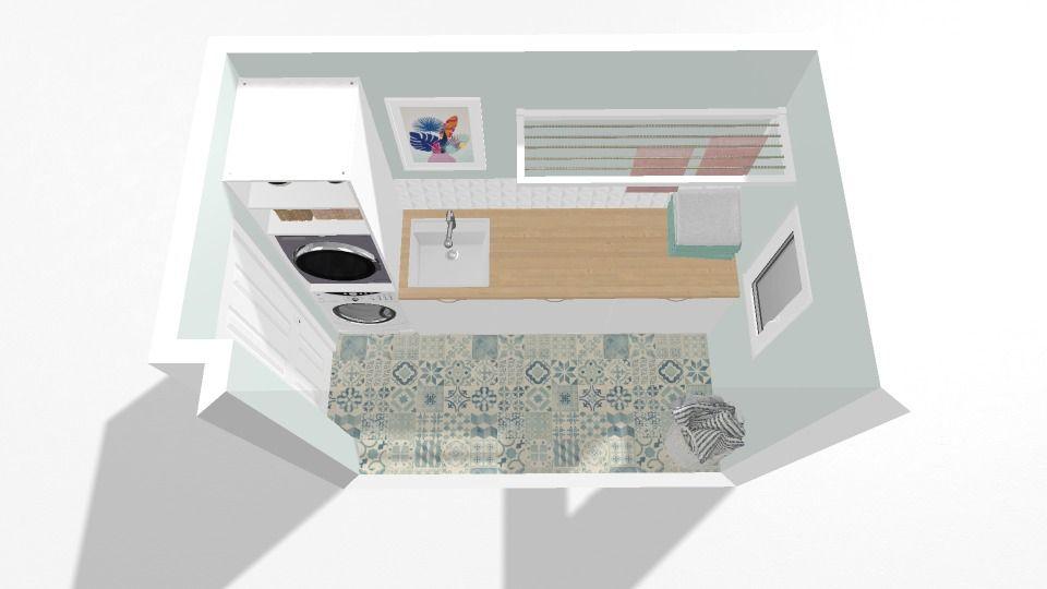 Lavandería con muebles Metod de Ikea