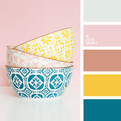 paleta de colores vintage