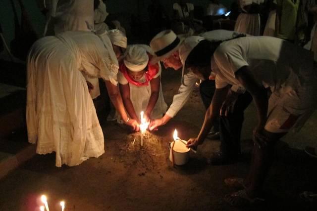 Una ceremonia Vodou en Gonaïves que puede ser visitada como parte de las excursiones que ofrece el hotel.