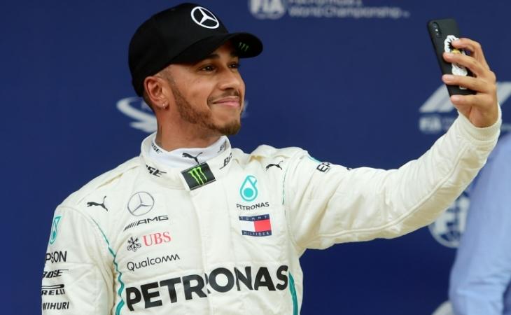 Resultado de imagen para Hamilton, con hambre de ganar en Brasil, aunque ya sea campeón