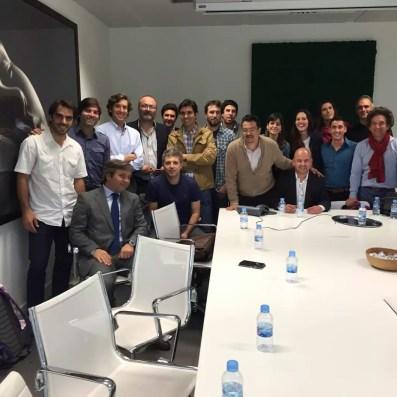 Delegacion Argentina en Chemo Group en Madrid
