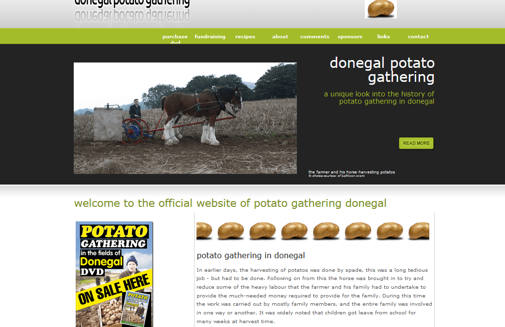 Donegal Potato Gathering DVD