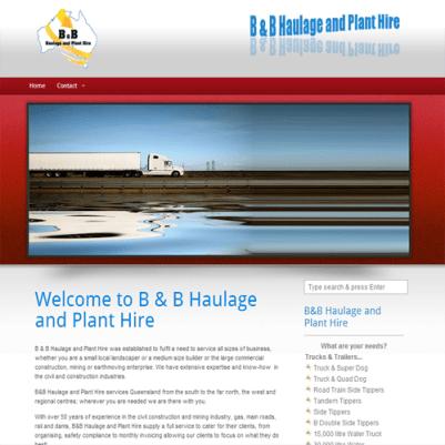 Haulage Website