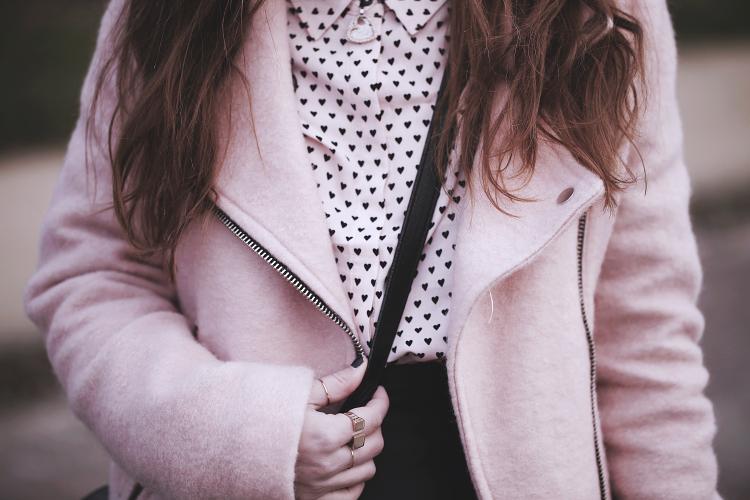 blouse coeurs
