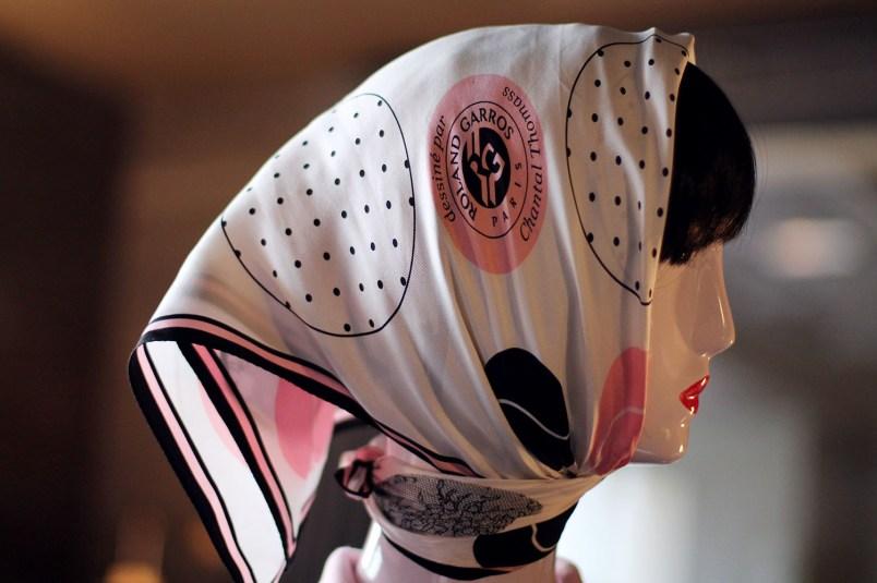 foulard roland garros