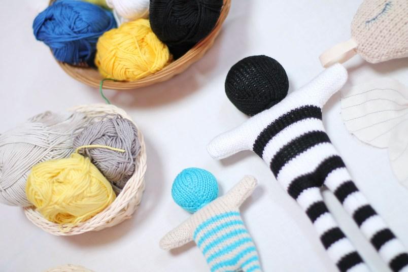 peluche en laine
