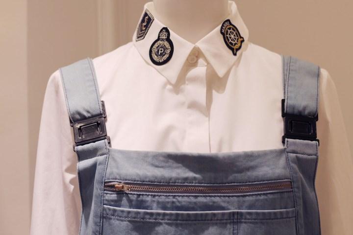 chemise ecussons