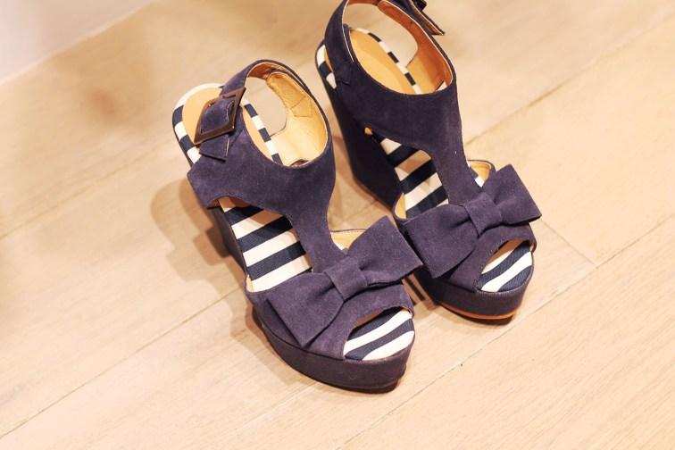 sandales noeud