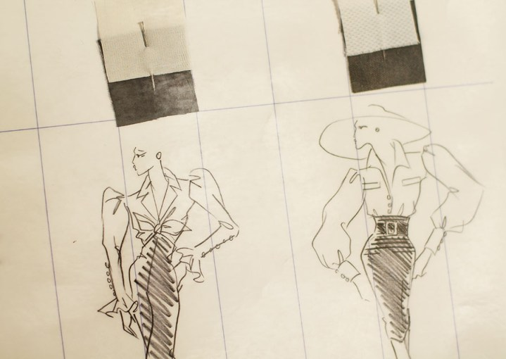 croquis saint laurent