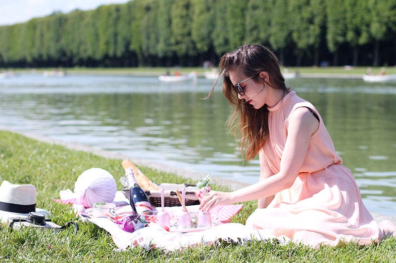 faire un picnic a versailles