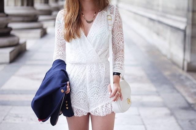 lace playsuit