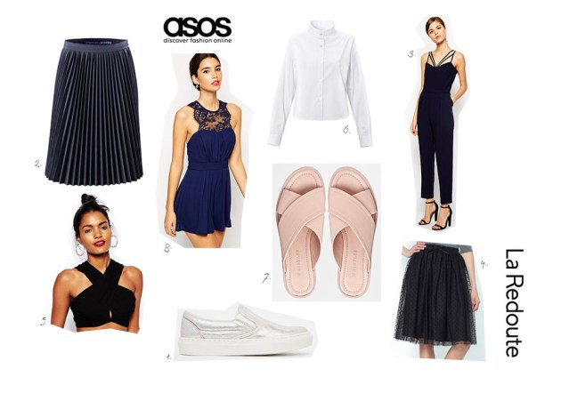 selection shopping asos la redoute