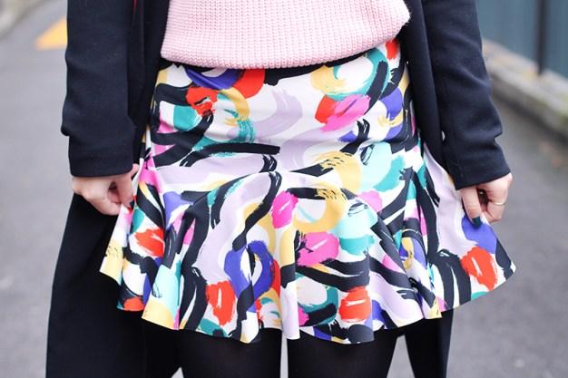 arty skirt