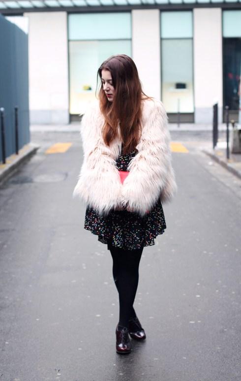fluffy coat