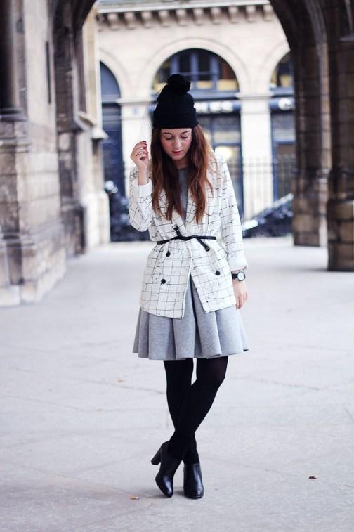 look gris noir blanc