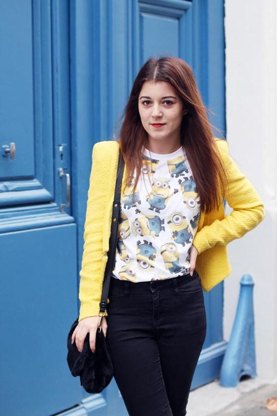 look en jaune